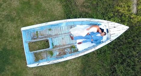 Elopement Wedding at The Charleston Harbor Resort - Kim & Damen