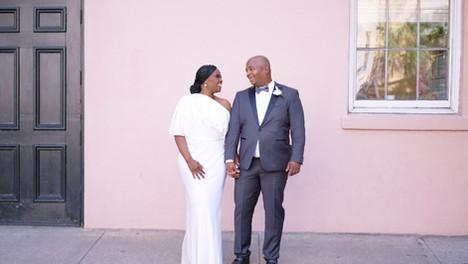 Stunning Intimate Micro-Wedding / Family reunion at the Gibbes Museum - Charleston Wedding Video