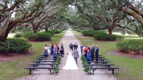 Micro-wedding / Charleston Wedding Video /  Boone Hall / Legare Waring House
