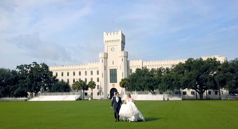 A Fairy Tale Wedding / Citadel Summerall Chapel, Charleston, SC / Audrey + Grant