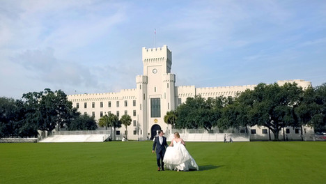 A Fairy Tale Wedding / Citadel Summerall Chapel, Charleston, SC / Audrey + Grant