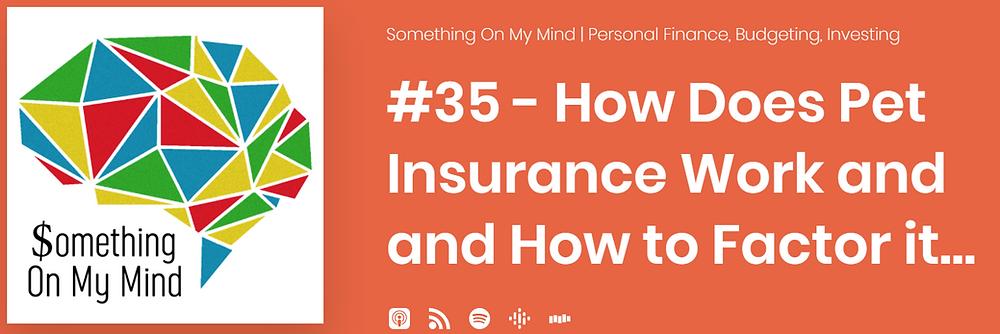 The basics of pet insurance
