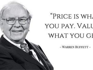 Inspiration Monday by Warren Buffet