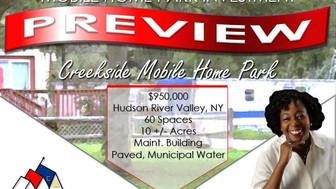 Spotlight: Creekside Mobile Home Park for Sale in New York