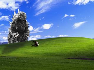 What if...GODZILLA Attacks My Park? An insurance thriller!
