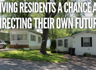 Mobile Home Park Giving Residents an Opportunity for Ownership