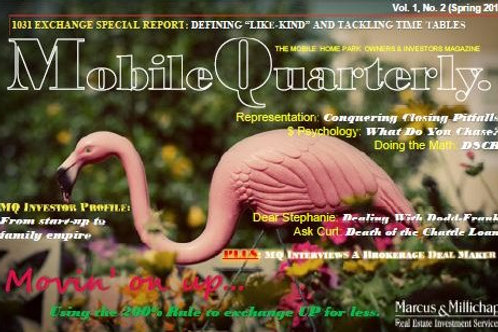 Mobile Quarterly Vol 1 No 2 - 2014