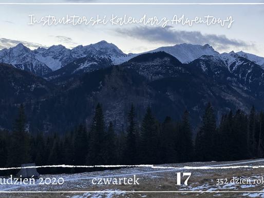 Instruktorski Kalendarz Adwentowy 17 grudnia 2020