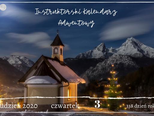 Instruktorski Kalendarz Adwentowy - 3 grudnia 2020