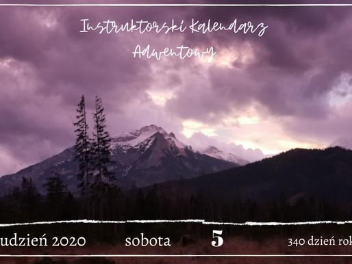 Instruktorski Kalendarz Adwentowy - 5 grudnia 2020