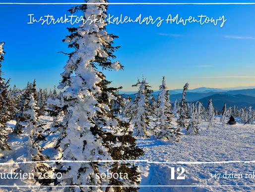 Instruktorski Kalendarz Adwentowy 12 grudnia 2020