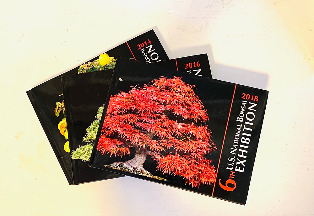 4th, 5th, and 6th US National Bonsai Exhibition Books