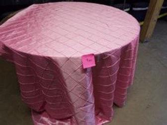 Pink Pintuck Tablecloths