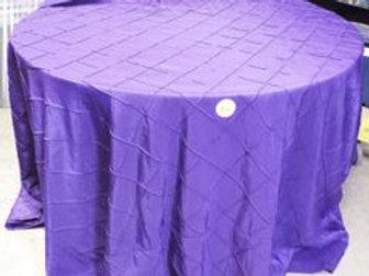 Purple Pintuck Tablecloths