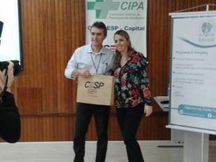 Palestra sobre Estresse na CESP