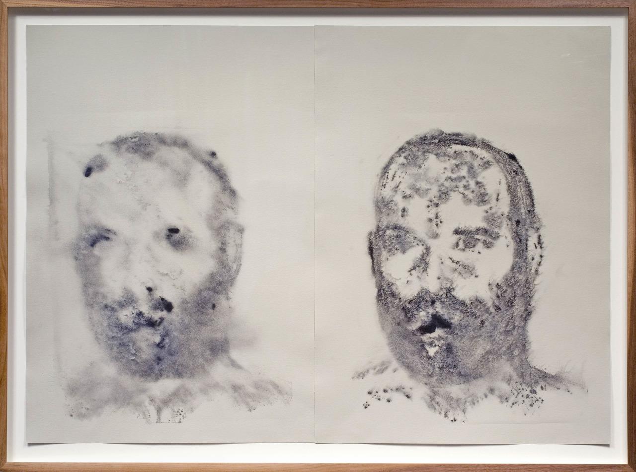 Double, 2008, monoprint