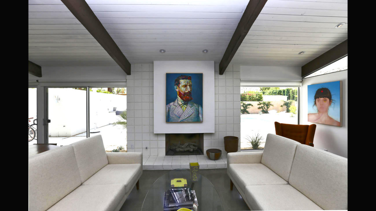 Robert Shiell's Palm Springs home
