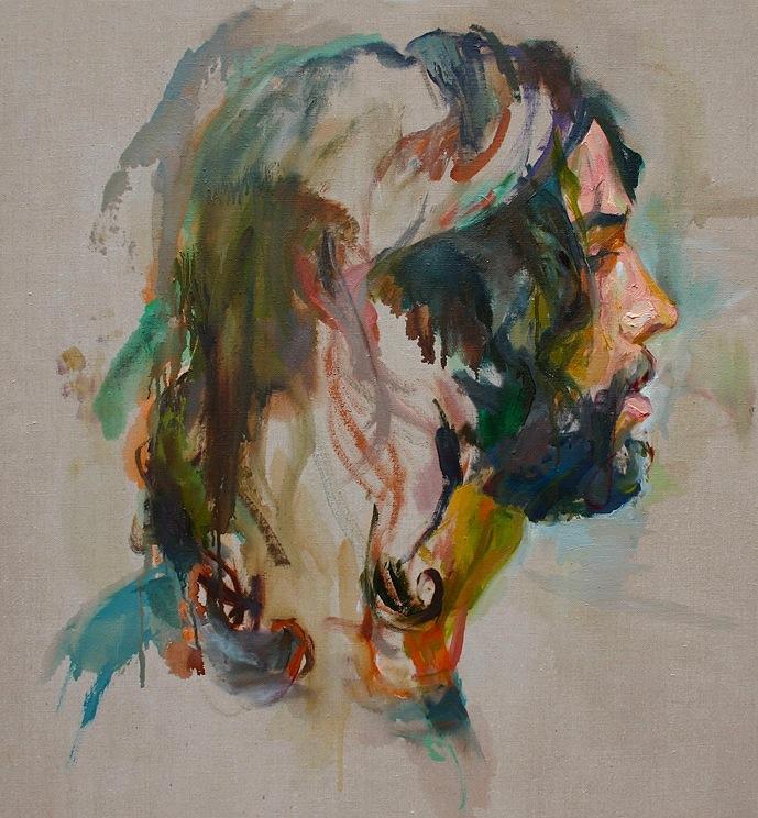 """Clemmer, 2011, oil on linen, 26"""""""