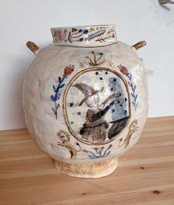 HOCUS POCUS, TINCTURE AND POULTICE glazed ceramic $800.00