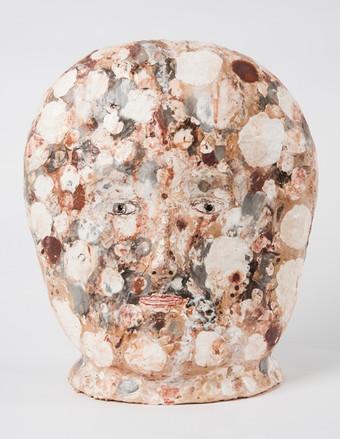 "Everything everything glazed ceramic 12.59"" SOLD"