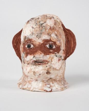 """Turn the quiet up glazed ceramic 5.51"""" $375"""
