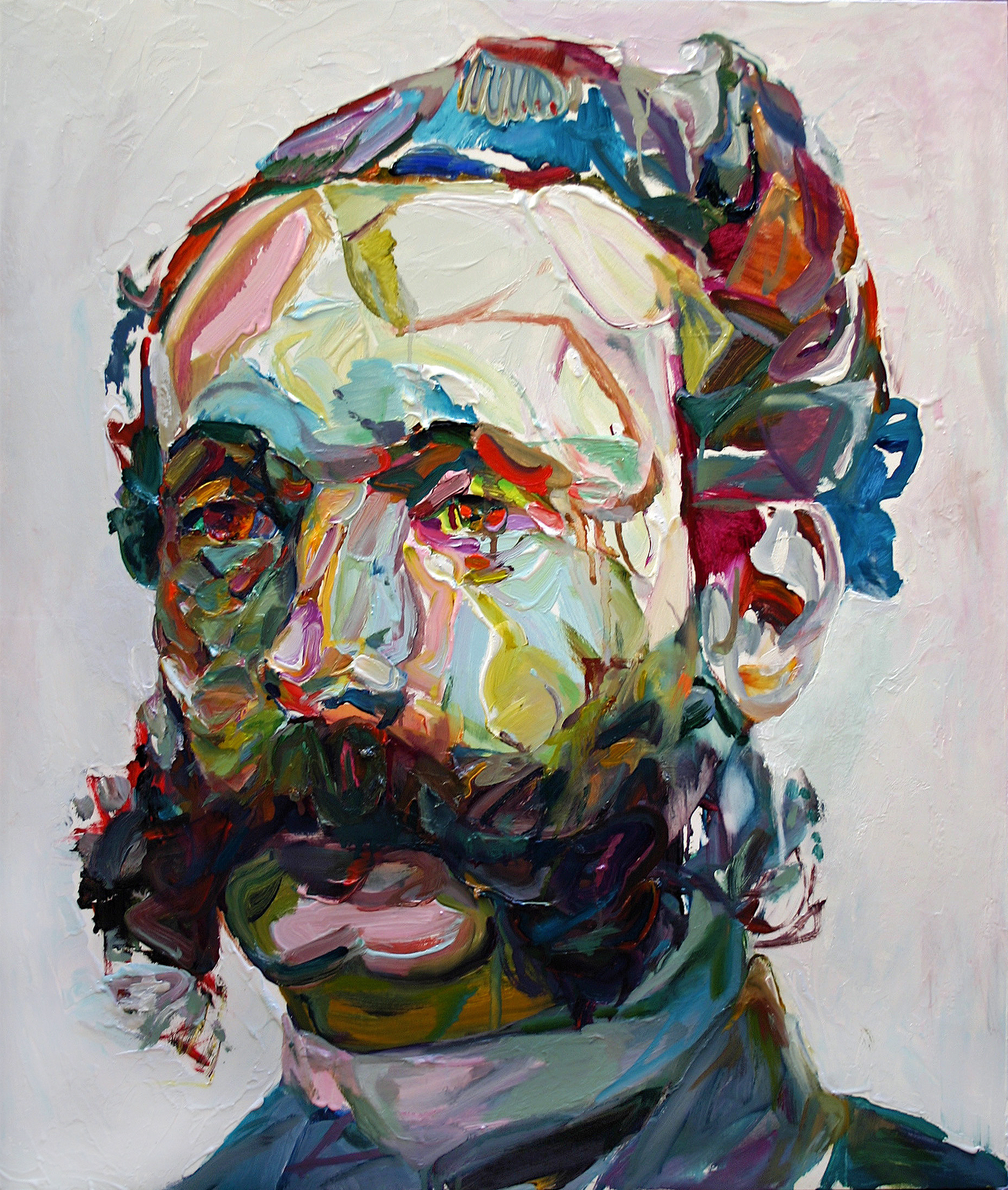 "Chopsy, 2011, oil on panel, 28""x24"""