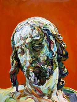 Mucksnipe, 2009, oil on panel,