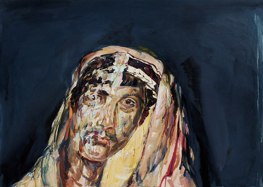 Mummy, 2008, oil on panel