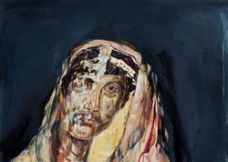 Mummy, 2008, oil on panel
