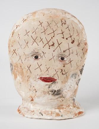 "Everything crossed glazed ceramic 10.23"" $800"