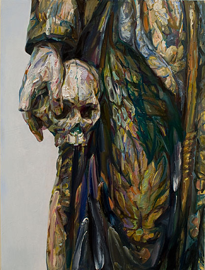 Estofada, 2008, oil on panel