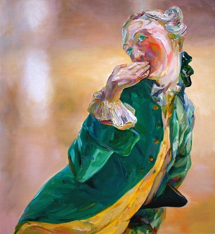 "Effie"", 2009, oil on panel"