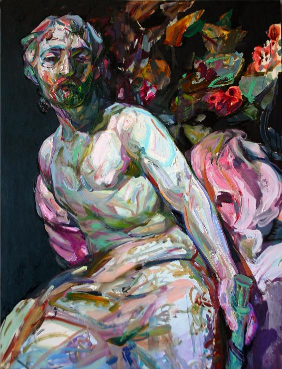 """Tosh, 2013, oil-panel, 36""""x27.5"""""""
