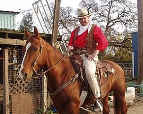 John Wayne Impersonator Jeff Sutherland