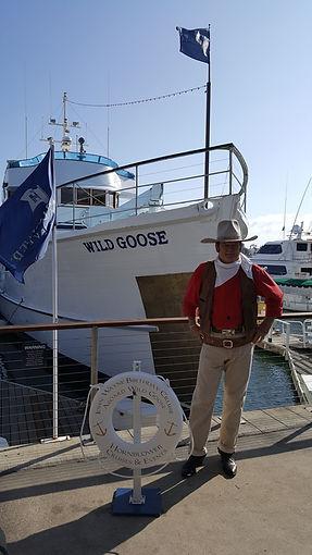 Jeffrey Wayne Sutherland with the Wild Goose