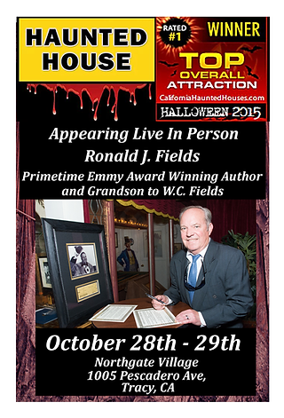 Ronald J. Fields Haunted House Guest 2016