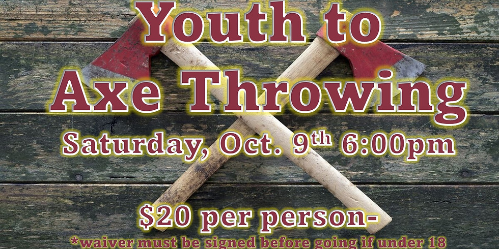 Youth to Axe Throwing
