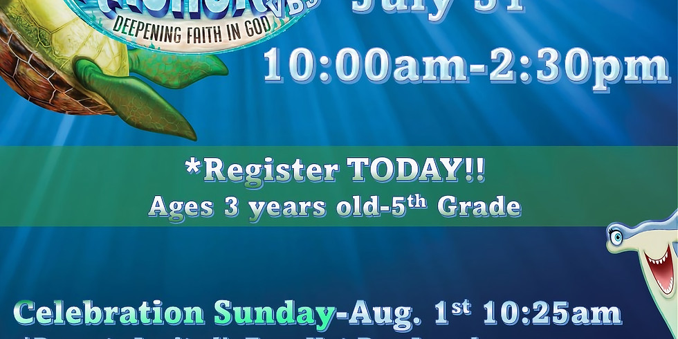 Anchored Weekend VBS
