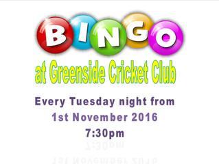 Bingo Nights at Greenside CC