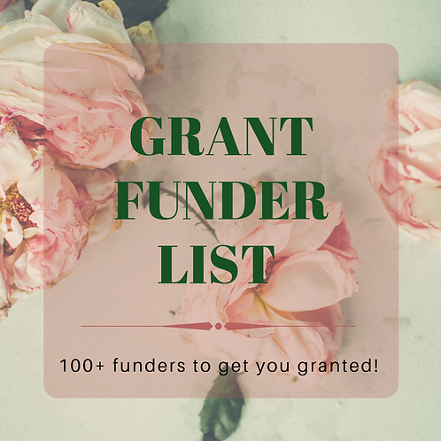 Grant Foundations List