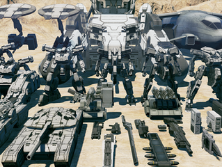 "Tactical Action Turn-Based Mech game ""DUAL GEAR"" Revealed a ""Mech Customization Video"" and Close-Alp"