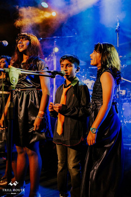 music students at trill route music acad