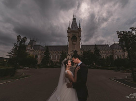 Dorina & Marius | Trash The Dress | Palatul Culturii Iasi | Titus M