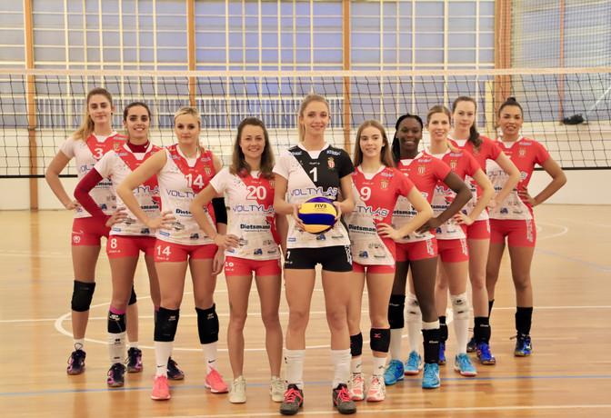L'ASM accède à l'Élite féminine de volley-ball