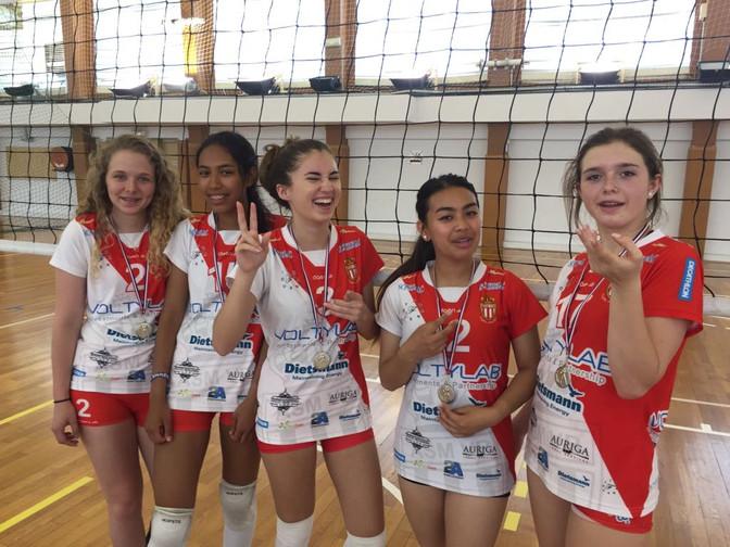Championnes Plateau Cadette !