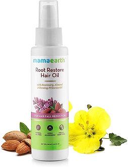 Mamaearth's Root Restore Hairoil 100mlBhrimraj,Jojaba, Almonds, Olive, Rosemary