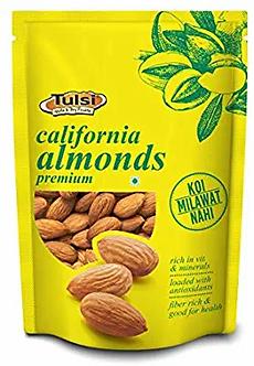 Tulsi California Almonds Premium,200g
