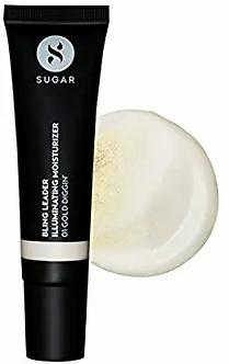 Sugar Cosmetic Bling Leader lIiuminating Moisture-01 Gold Design-Warm gold