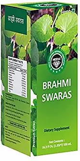 Heera Ayurvedic Research Foundation Brahmi Juice Sugar Free Premium Extract -1