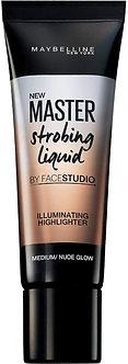 Maybelline New York face studio strobing cream,Nude,18ml